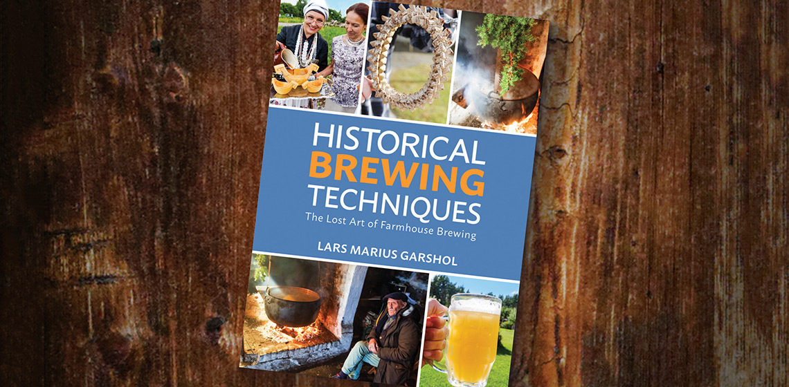Historical Brewing Techniques. Photo by Brewers Publications
