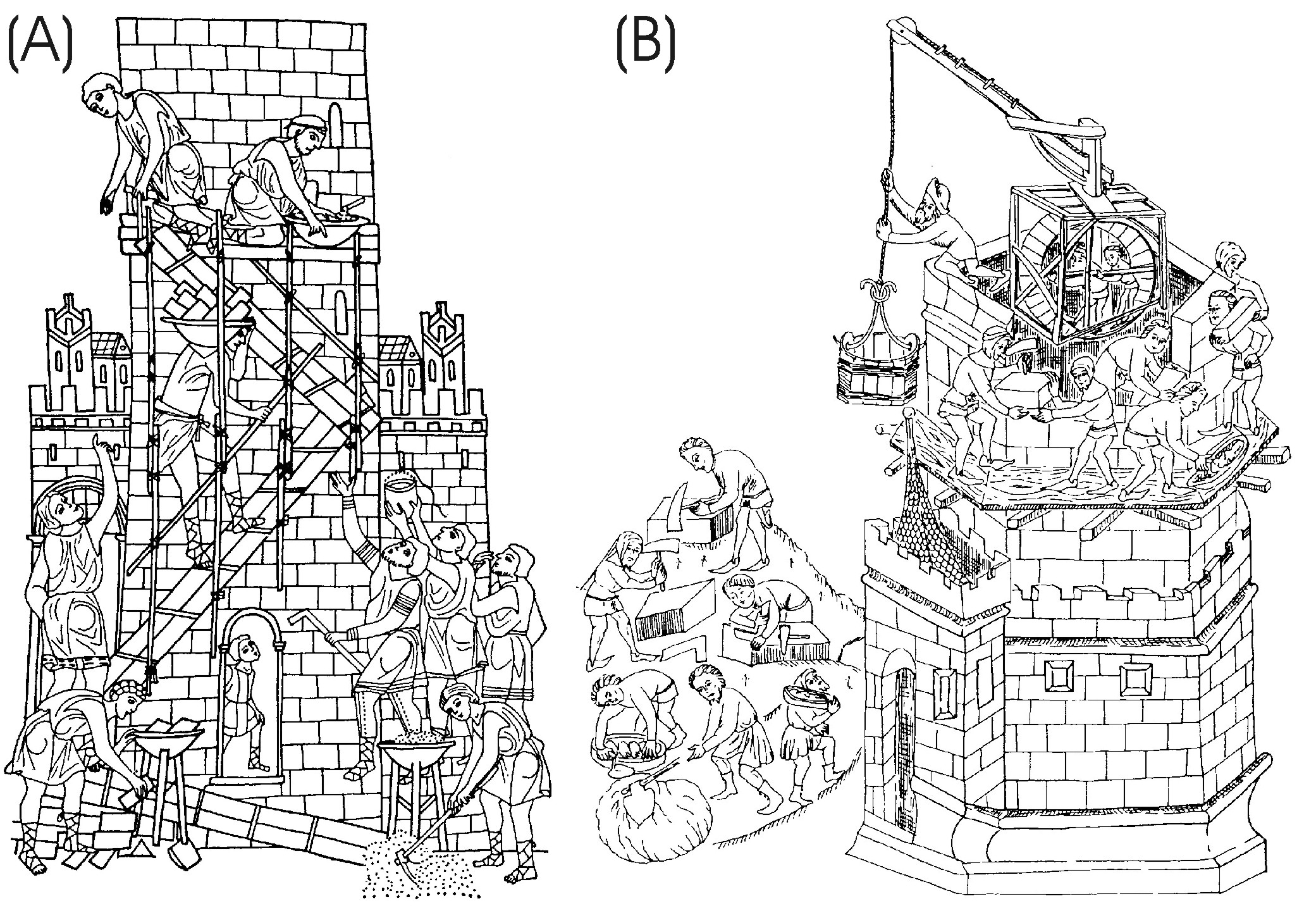 Contribution to the Medieval Building Technology Based on