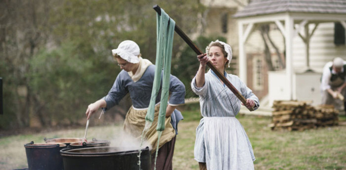 Colonial Williamsburg Foundation – EXARC Fellowship. Photo: Colonial Williamsburg