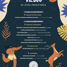 Event leaflet in Spanish