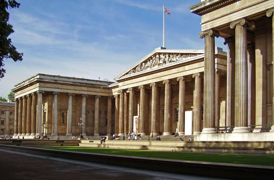 The British Museum in London. Photo by Ham - Own work, CC BY-SA 3.0, https://commons.wikimedia.org/w/index.php?curid=1553456