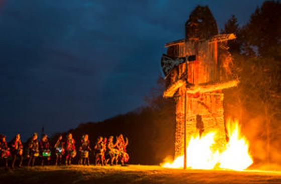 Burning Wicker Man