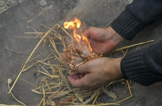Fire making