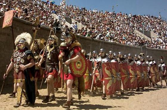 "Roman Festival ""Swords, Bread and Games"""