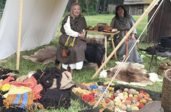 Colchester Historical Re-enactment Society at Butser Ancient Farm