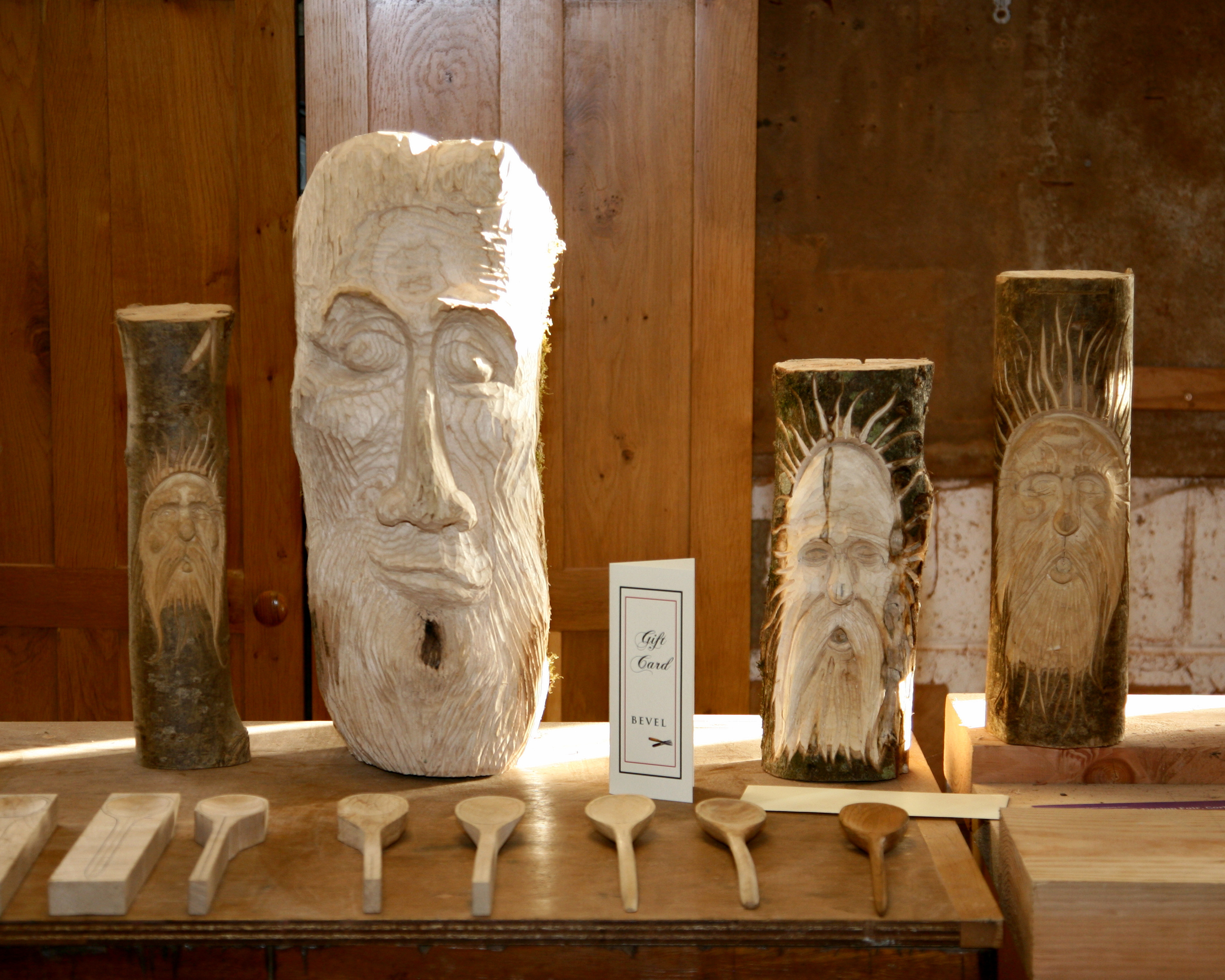 Traditional Wood Carving Course With Tommy Kelly Exarc